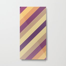 Colorful Lines Metal Print