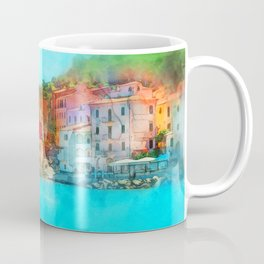 Elba Island, Tuscany - Watercolor Coffee Mug