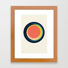 Future Globes 003 — Matthew Korbel-Bowers Framed Art Print