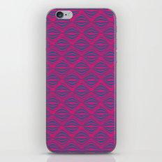 Warp Field (Pink & Blue) iPhone & iPod Skin