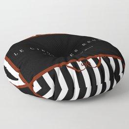 Night Circus Invitation Floor Pillow