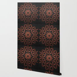 The Flower of Life - Ancient copper Wallpaper