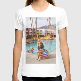 Palm Springs Pool Day V T-shirt
