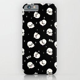 Cute Kawaii Ghost iPhone Case