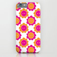 Button Flowers Slim Case iPhone 6s