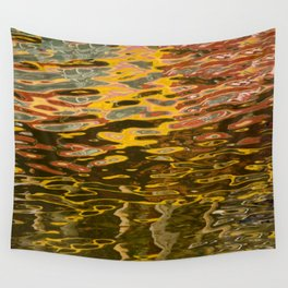 COLORFUL REFLECTION Wall Tapestry