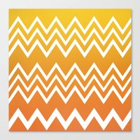 tequila Canvas Prints featuring Tequila Sunrise by Color and Form