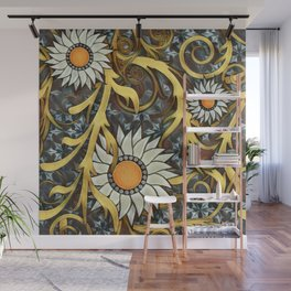 The Golds of Autumn Wall Mural