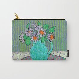 cheery cherry table still life Carry-All Pouch