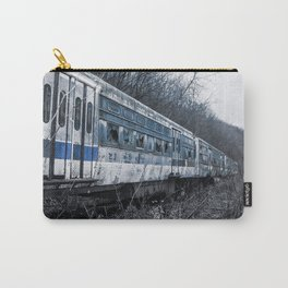 Blue Train An Abandon Trolley graveyard Carry-All Pouch