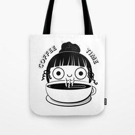 Coffee Girl Tote Bag