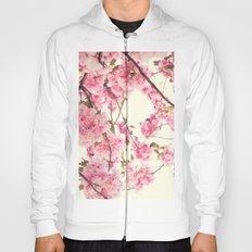Deep cherry blossoms Hoody