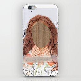 debo ser yo mismo iPhone Skin