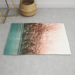 Forest Lake Gradient Rug