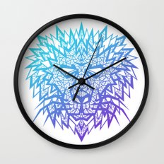 Heart of a Lion Wall Clock
