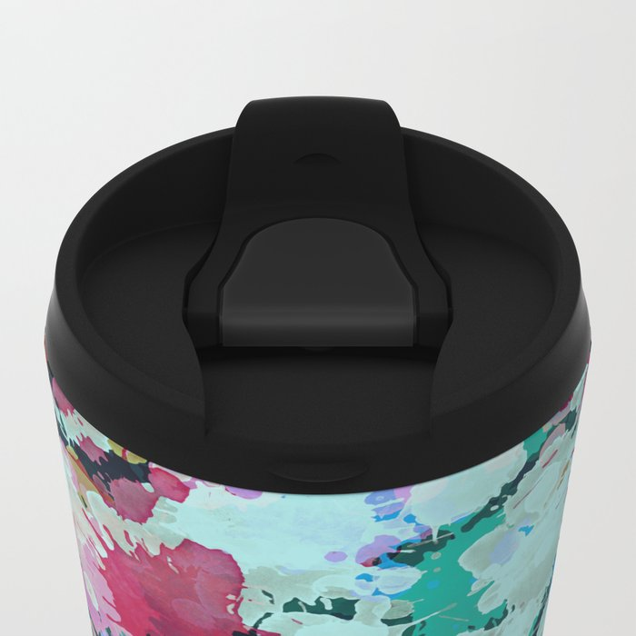 Abstract XXIII Metal Travel Mug