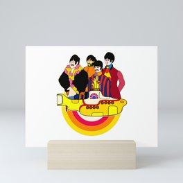 Yellow Submarine - Pop Art Mini Art Print