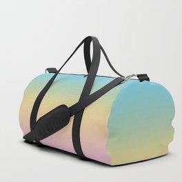 Pastel Rainbow Ombre Gradient Duffle Bag