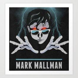 Mark Mallman - Lightning Fingers Art Print