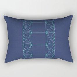 Lotus Bookbinding Rectangular Pillow