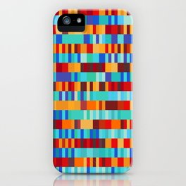 Bach Invention (Fire and Iceberg Colours) iPhone Case
