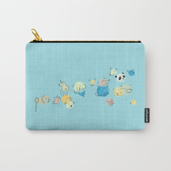 Bubble Animals Carry-All Pouch