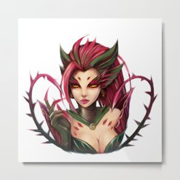Zyra: The rise of the Thorns Metal Print