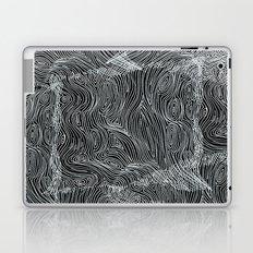 inverted brain map Laptop & iPad Skin