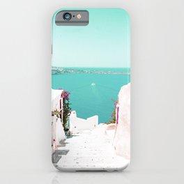 Santorini Sea iPhone Case