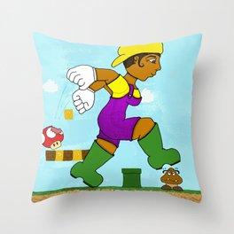 Lauriel: Super Mario Sister Throw Pillow