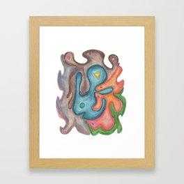 Drawing #114 Framed Art Print