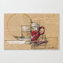 Red Mug Canvas Print
