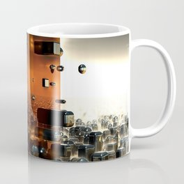 The Fractals of the Future 3D Modeling Coffee Mug