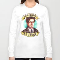 mulder Long Sleeve T-shirts featuring In Mulder We Trust by Tiffany Willis