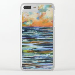 Sea of Ballads Clear iPhone Case