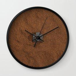 Ground Coffee & Tiny Tiny Camera Wall Clock