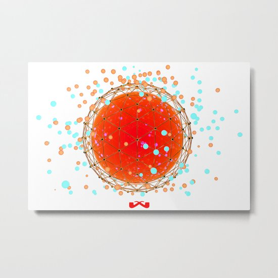 Nucleus. Metal Print