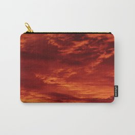 Inferno Skies Carry-All Pouch