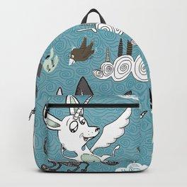 chipegacorn, chihuahua dog + pegasus + unicorn mythical creature! chipegacorn, chihuahua dog + pegas Backpack