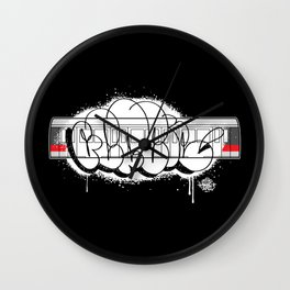 G Train Wall Clock