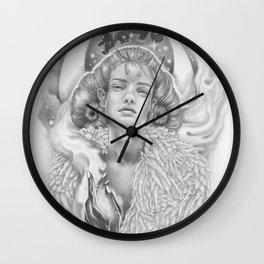 Aries New Moon Wall Clock