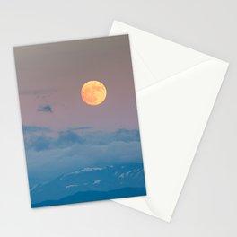 Full super moon December 2017 Stationery Cards