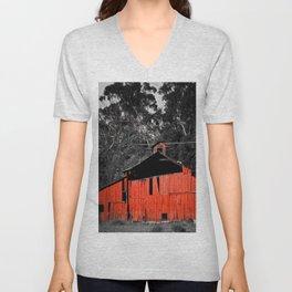 The Red Barn Unisex V-Neck