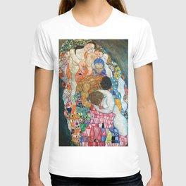 "Gustav Klimt ""Death and Life"" (detail) T-shirt"