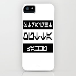 Straight Outta Jakku iPhone Case