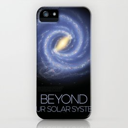 Solar System and Beyond iPhone Case