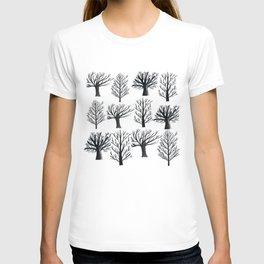 Monochrome Forest T-shirt