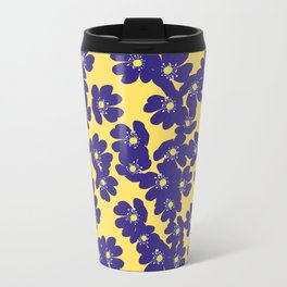 Blåsippor. Liverwort Travel Mug