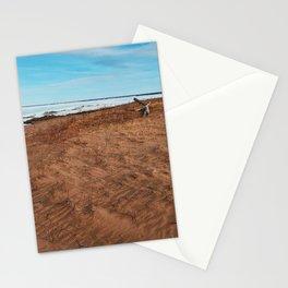Snow Beach Stationery Cards