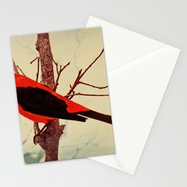 Neltje Blanchan - Bird Neighbours (1903) - Scarlet Tanager Stationery Cards